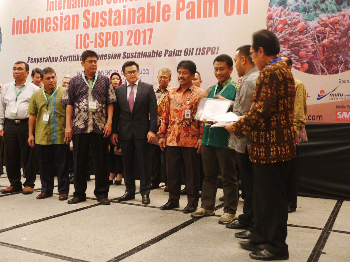 Ministry of Agriculture and UNDP Successfully Supported Amanah to be the First ISPO Certified Smallholders